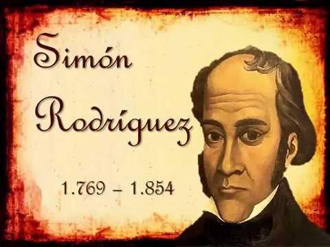 Biografia De Simón Rodriguez