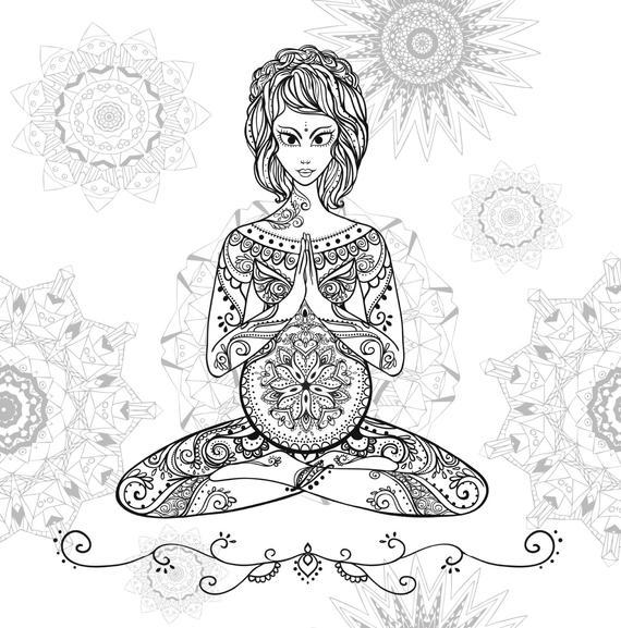Dibujos Para Colorear Relajantes