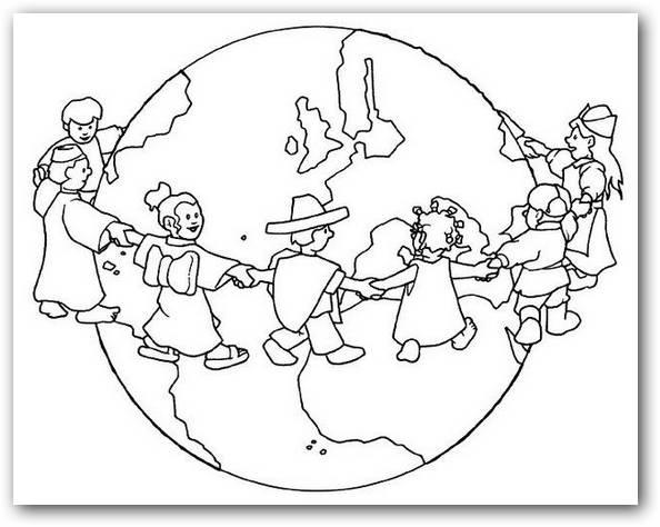 Dibujos De La Paz Para Colorear
