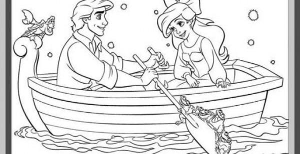 Juegos De Pintar Princesas Y Principes Besandose