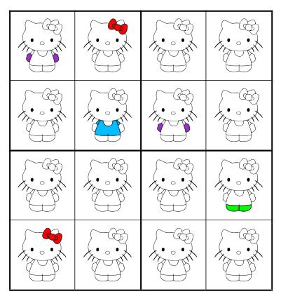 Juegos De Hello Kitty Para Imprimir