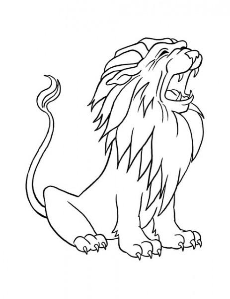 Dibujos De Leones ! 101 Dibujos Para Colorear! Los Leones Más