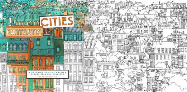 Libro Para Colorear Dedicado Para Que Los Adultos Se Diviertan