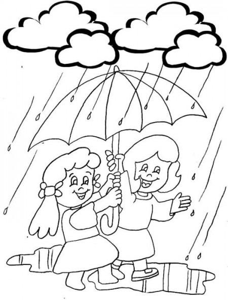 Qué Divertida La Lluvia !!