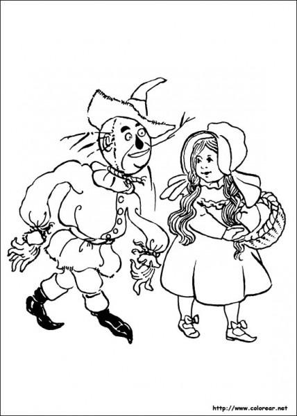 Dibujos De El Mago De Oz Para Colorear En Colorear Net