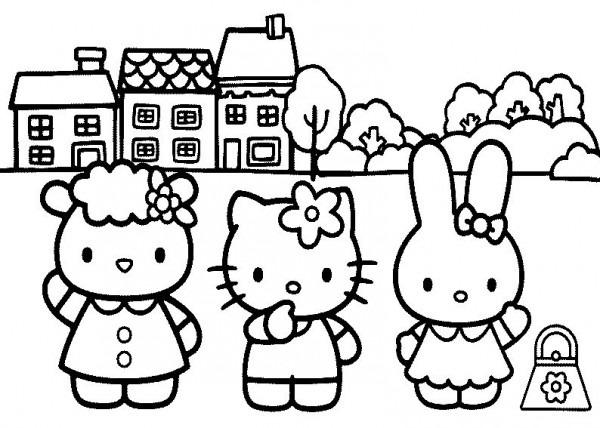20 Mandalas De Hello Kitty Para Colorear – Mandalas Para Colorear