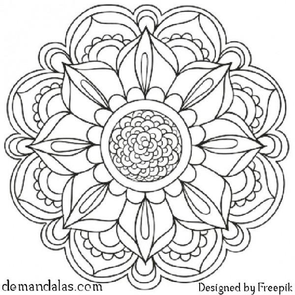 Mandalas Para Imprimir Y Colorear