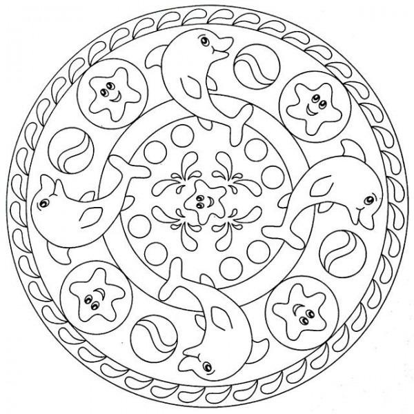 Mandalas  Guía Con Imágenes De Mándalas Para Colorear, Pintar