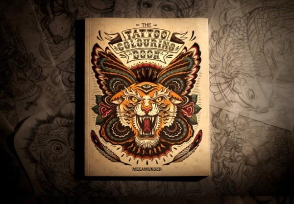 Un Libro De Tatuajes Para Colorear – Nice Fucking Graphics!