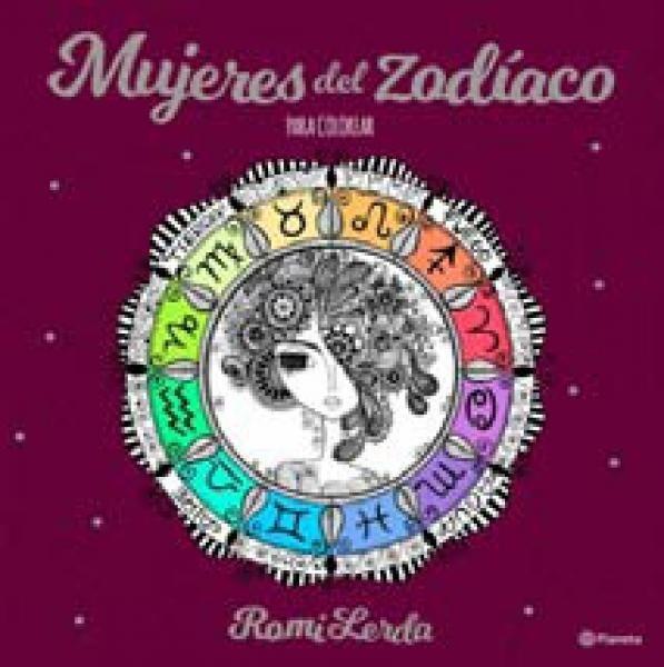 Mujeres Del Zodiaco Para Colorear
