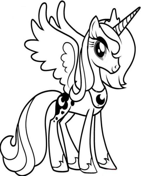 My Little Pony Para Colorear E Imprimir