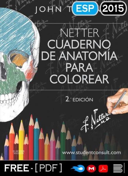 Netter Cuaderno De Anatomía Para Colorear 2da Edición Pdf