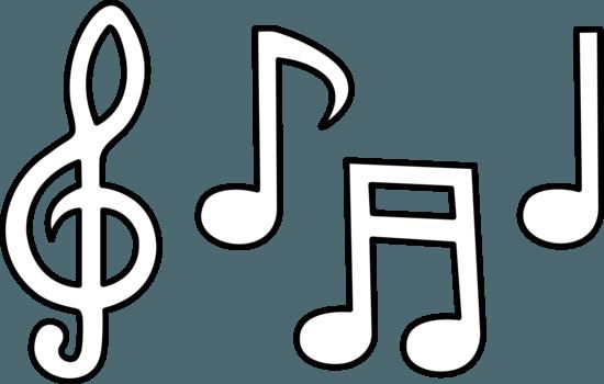 Coloreando Dibujos De Notas Musicales