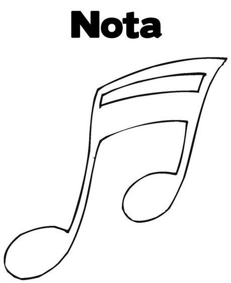 Notas Musicales Dibujo