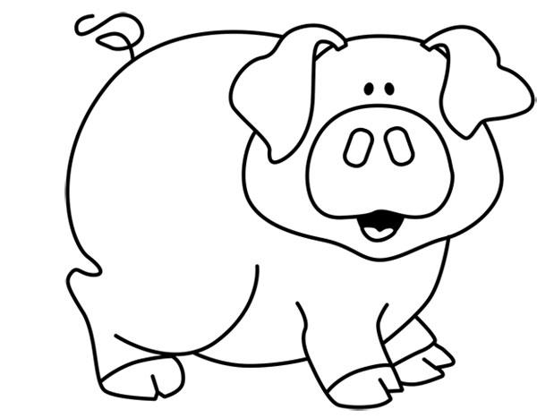 Cerdos Para Pintar