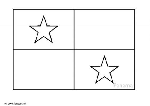 Dibujos Del Día De La Bandera De Panamá Para Pintar