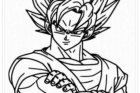 Dibujos De Goku Para Colorear 🥇 Biblioteca De Dibujos E Imágenes