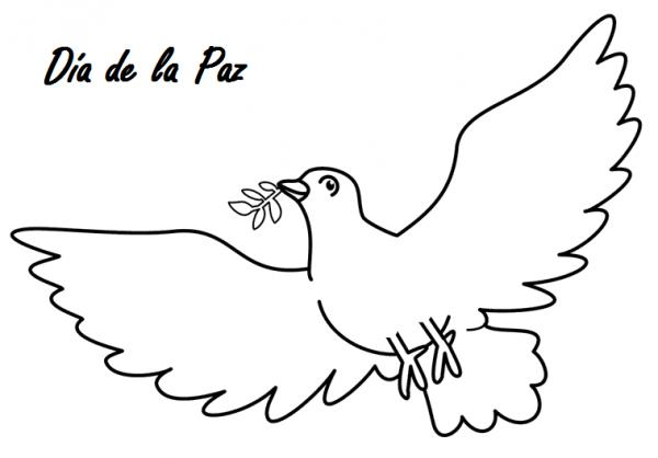 Imagenes Para Colorear De La Paz Mundial