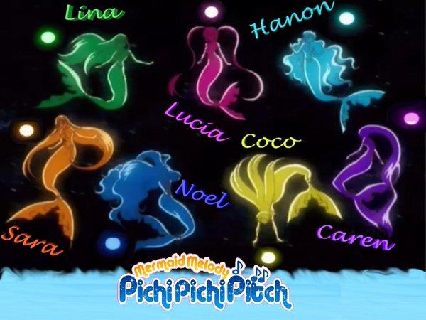 Pichi Pichi Pitch Forever  Las Perlas