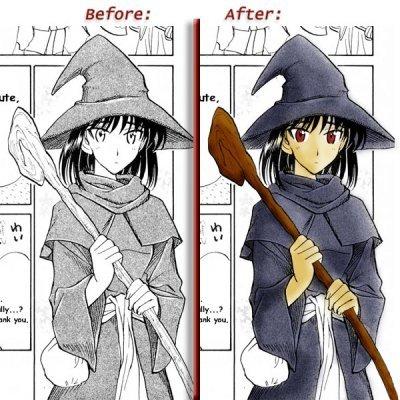 Una Forma Sencilla De Colorear Un Manga Con Photoshop