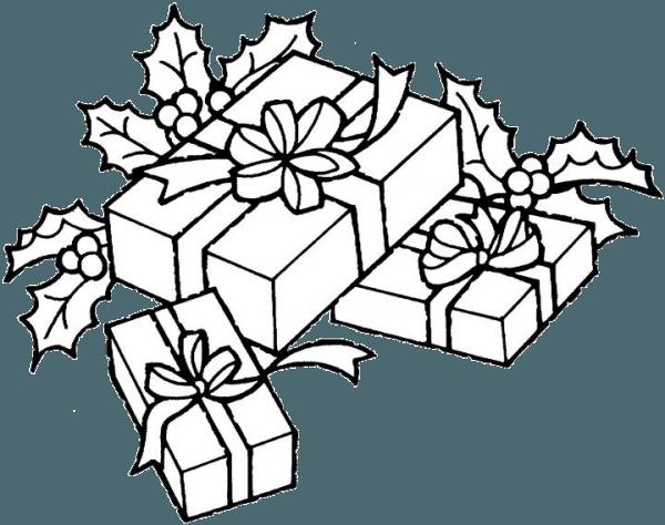 Regalos De Navidad Para Colorear Dibujos