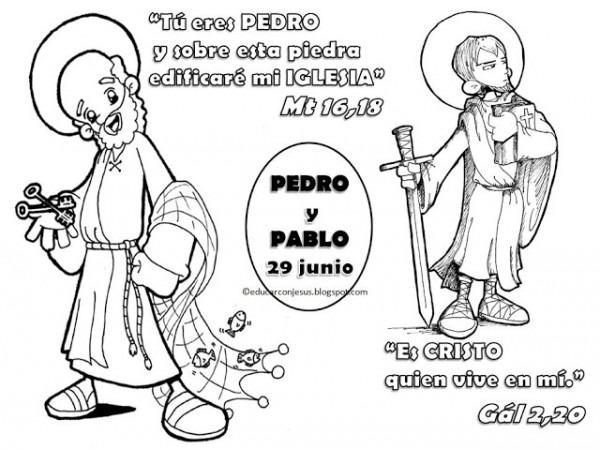 La Catequesis (el Blog De Sandra)  Recursos Catequesis San Pedro