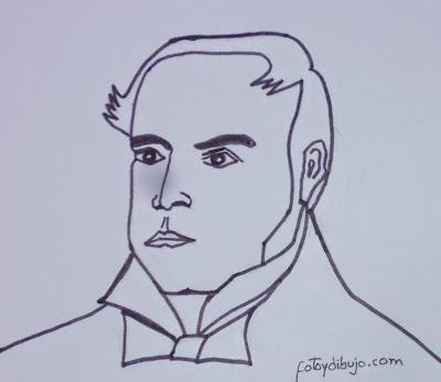 Fotos Y Figuras  Dibujo De Simon Rodriguez Para Pintar