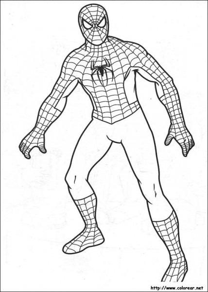 Dibujos De Spiderman Para Colorear En Colorear Net