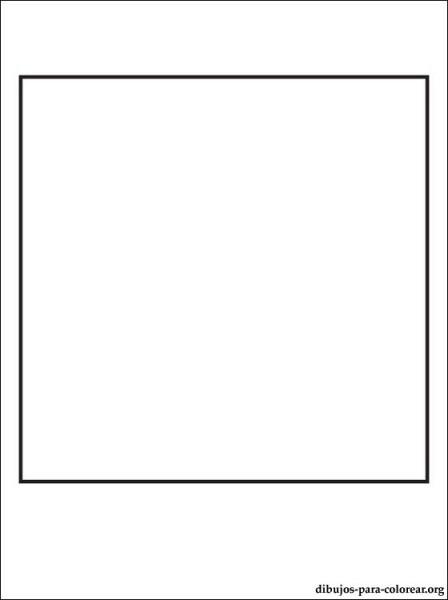 Dibujo De Cuadrado Para Colorear