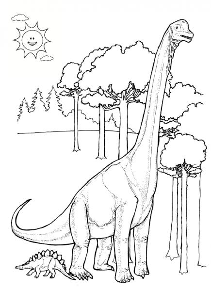 Dinosaurios Para Colorear  Dinosaurios Para Colorear