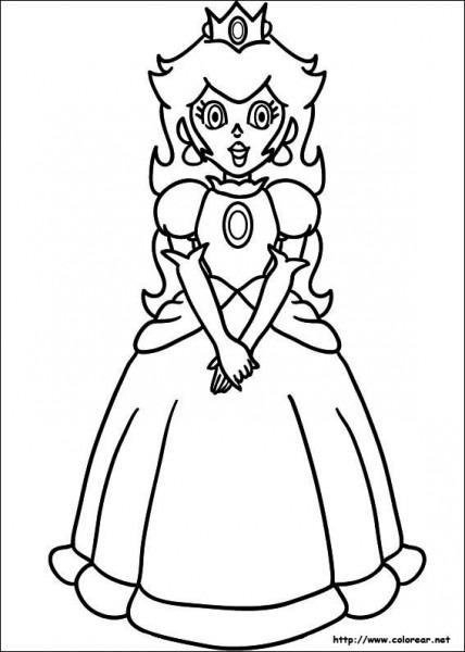 Dibujos Para Colorear De Mario Bros Para Imprimir