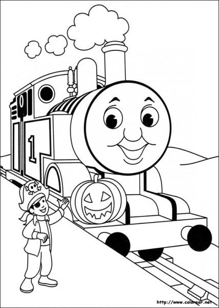 Dibujos De Thomas Y Sus Amigos Para Colorear En Colorear Net