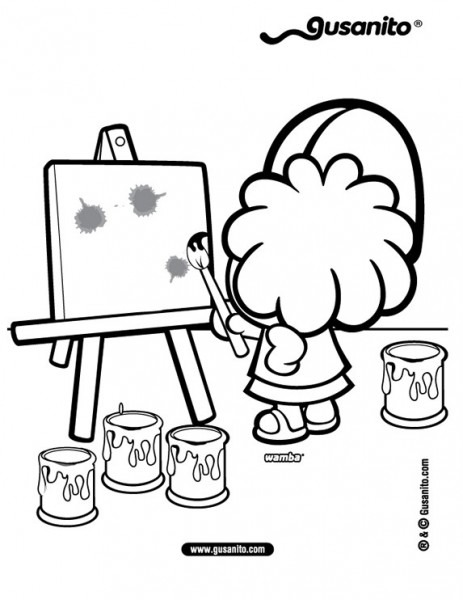 Imagenes De NiÑos Para Pintar Y Colorear