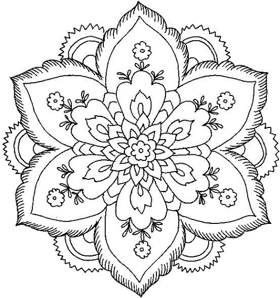 80 Mandalas Con Flores Para Colorear  Diseños Inspiradores