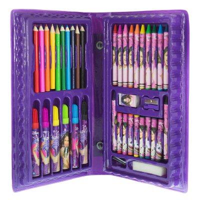 Set De Arte Para Dibujar Y Colorear De Violetta