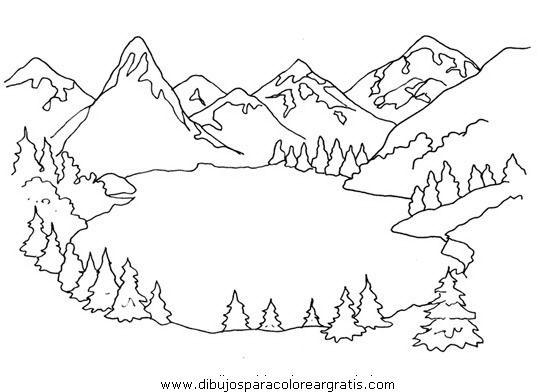 Resultado De Imagen Para Dibujos Para Colorear Paisajes De