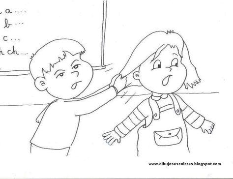 Dibujos Para Colorear Y No A La Violencia