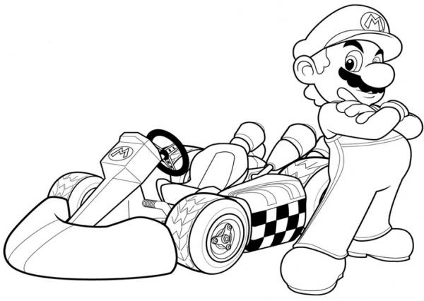 Aquí Os Dejamos Más Dibujos Para Colorear De Super Mario Bross Con