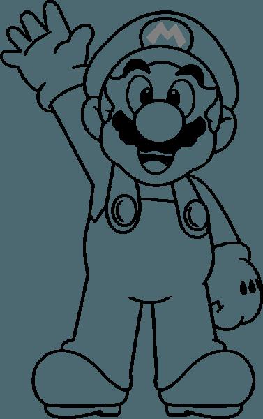 Hd Drawing Dory Mario