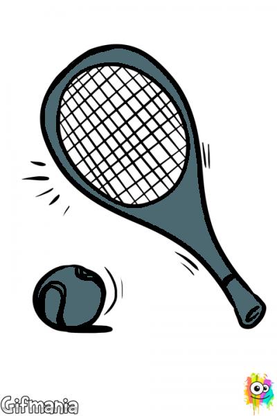 Pelota Y Raqueta De Tenis