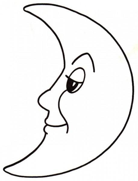 Resultado De Imagen Para Molde De Media Luna Para Imprimir
