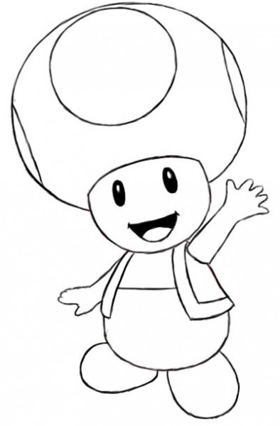 How To Draw Toad