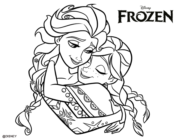 Desenhos Da Frozen Baby