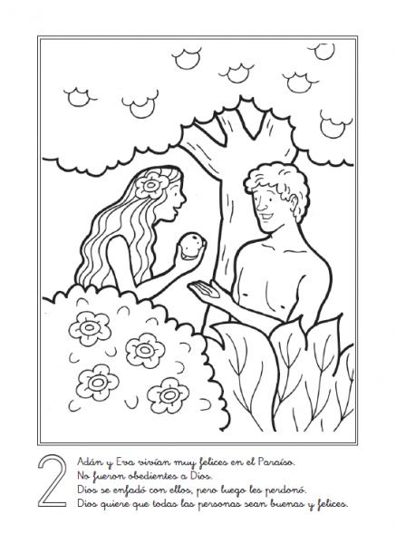 Imagenes Cristianas Para Colorear  Dibujos Para Colorear De La
