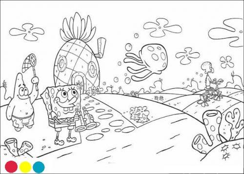 ▷ Divertidisimos Dibujos De Bob Esponja Y Sus Amigos Para