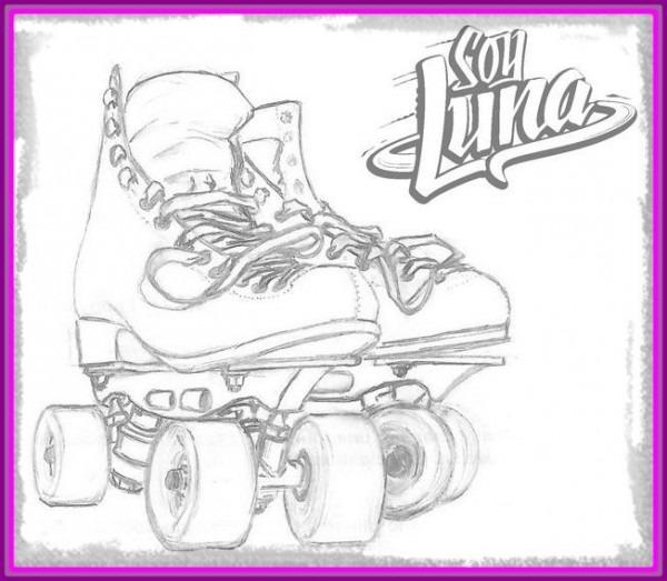 Dibujos De Soy Luna Para Colorear