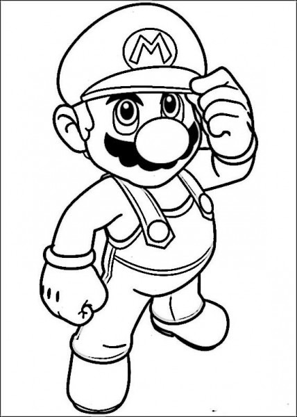 Mario Bross Coloring Pages 27