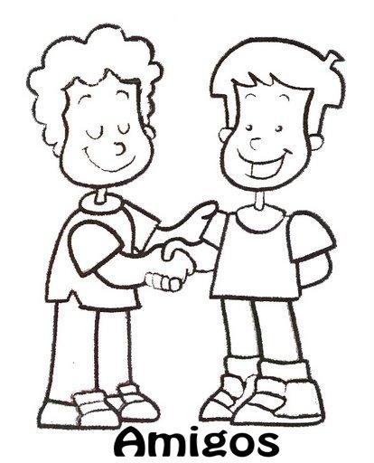 Dibujos De Personas Dialogando Para Colorear