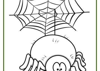 99 Dibujos De AraÑas ® Arañas Para Colorear Infantiles Y Para Niños