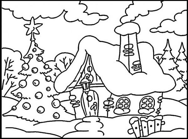 Navidad Para Colorear E Imprimir – Niza Regalos De Navidad 2019